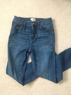 Jcrew toothpick skinny jeans