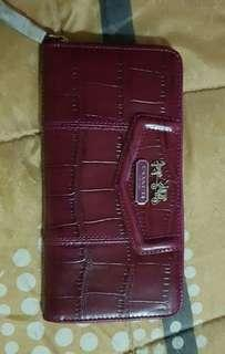 Original Coach Wallet (Red)
