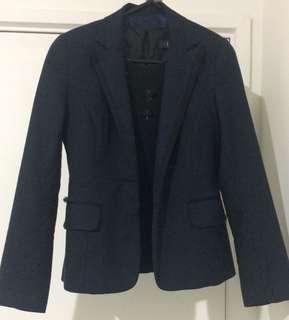 Navy blazer for work