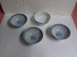 絕版通花瓷碗