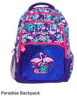 💖SUPER SALE!!!💖Authentic Smiggle Paradise Collection Backpack