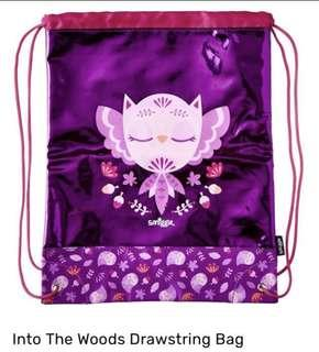 💖SALE!!!💖 Authentic Smiggle Into the Woods Drawstring Bag (Purple)