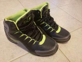 AND1 GREY/LIME/BLACK Basketball Shoes
