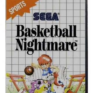 Basketball Nightmare - Sega Master System II Game AU Ex Rental
