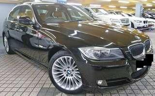 BMW 323 2009 黑色 LCI facelift 版