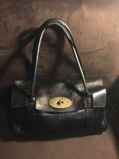 Mulberry East West Bayswater in black
