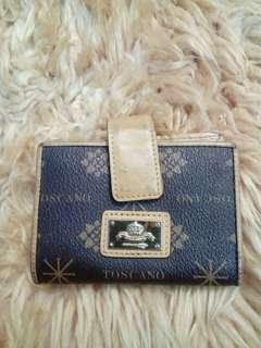 Preloved Authentic Toscano card bag