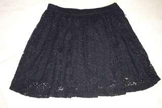 F21 lace skirt