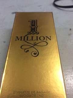 Paco Rabanne One Million Gold Bag Tag