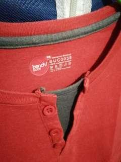 Red Chino Shirt