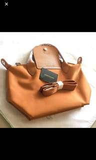 Longchamp  Le pliage Neo Rust Orange