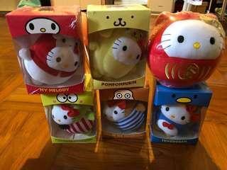 全新😍Hello Kitty 麥當勞公仔 (6件)