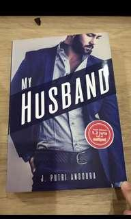 Novel Indonesia bekas: my husband