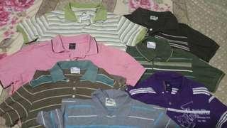 Bundle polo shirts medium