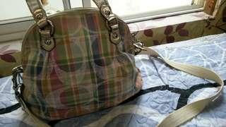 Coach women bags tali panjang