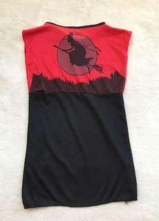 Little Witch Dress or Costume for Girls (2-4yo)