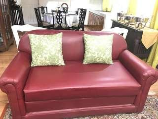 Sofa bed  price slightly negotiable