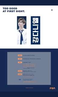 Share wanna one Daniel slogan