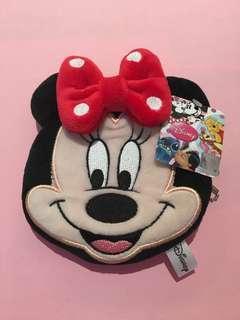 Disney Minnie Mouse Zipper Coin Pouch