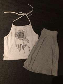 ⭐️Tennis girl style set (2 pieces)