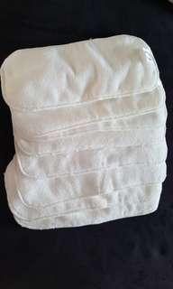 Brand new, never used Baby diaper insert, 8 pcs