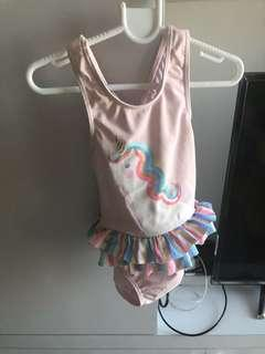 Unicorn Toddler Swimwear 18-24M