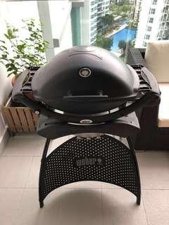 Weber Gas BBQ with Freebie!