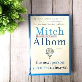 [Ready Stock] The Next Person You Meet in Heaven - Mitch Albom (English)