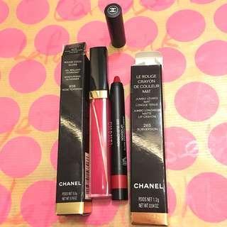 順豐到付 One set 2 支 Chanel Gloss & matte lip