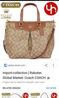 🚚 Looking for Coach Bag as Picture