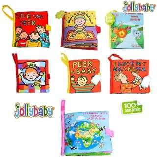 Jolly Baby activities cloth book