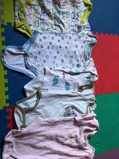 Baju bayi 5pcs