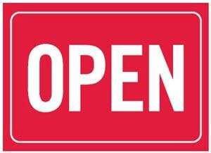 Hi! OPEN!