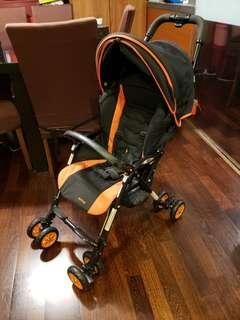 Aprica stroller. Very light