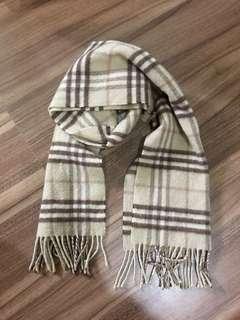 🚚 Burberry cashmere 圍巾二手