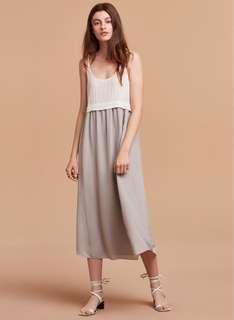 Aritzia Wilfred 100% silk dress