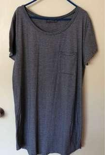 mirrou tee shirt dress
