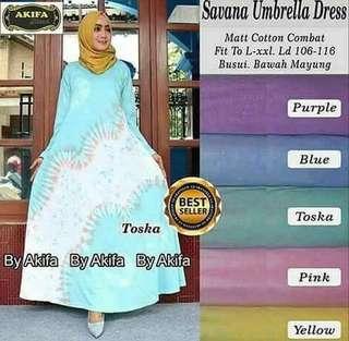 Savana Umbrella Dress