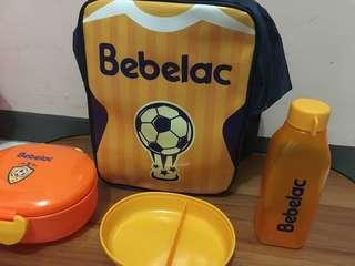 Tas & Lunch Set Bebelac Yellow