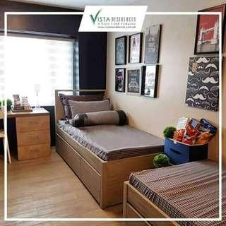 Rush sale !!! Condo in vista katipunan studio 1 bedroom condo Few units available As low as 14,000 monthly Best condo investment near Katipunan Ateneo and UP diliman