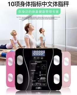 Smart Weighing scale measure muscle mass and body fat