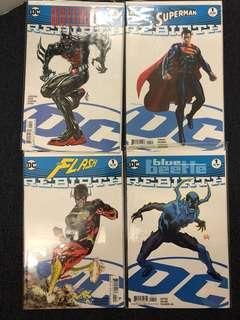 DC Rebirth Variant covers sale!