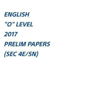 ENG PRELIM 2017 (PACKAGE A OR B)