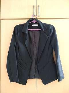 Korean black jacket for women (S)