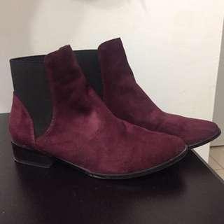 Aldo Maroon Shoes