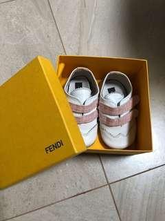 Fendi baby first shoe