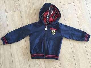 Ferrari Jacket with Hoodie