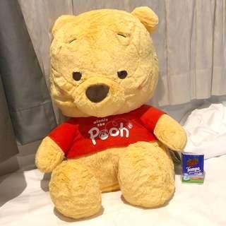 日本夾 最新 巨型 景品 Winnie The Pooh 小熊維尼 毛公仔
