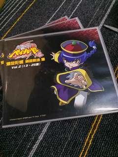 HK$20/1盒(4隻DVD) ~ 全新絕版爆旋陀螺 鋼鐵戰魂 Vol.2 (13~25集) DVD