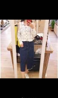🚚 韓國露肩雪紡襯衫